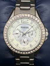 Stainless Steel Quartz 38mm R173 Fossil Women's Watch Silver Dial Ladies