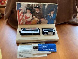 Vtg Minolta Pocket Autopak 200 Camera Electronic Flash in Original Box 110