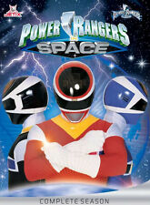 POWER RANGERS IN SPACE Complete Season  KOMPLETTE STAFFEL  5 DVD Box Edition Neu