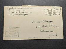 APO 4774 ORAN, ALGERIA Censored WWII Army Cover 248 SIGNAL Oper Soldier's Mail