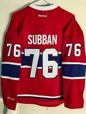 Reebok Women's Premier NHL Jersey Montreal Canadiens P.K. Subban Red sz 2X