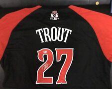 2015 Mike Trout Autograph All Star Jersey signed Auto MLB COA LA Angels Rare