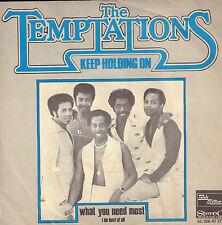 "TEMPTATIONS – Keep Holding On (1976 MOTOWN VINYL SINGLE 7""DUTCH PS)"