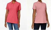 Karen Scott Women's Short-Sleeve Polo Shirt, Assorted Colors