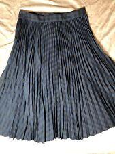 Comptoir Des Cotonniers Womens Pleated Skirt, Size M (FR 38)