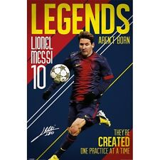 Lionel Messi Poster - Legends Are Not Born - Official - 600M X 900Mm (#662)
