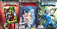 Blackest Night: Titans #1-3 (2009) DC Comics - 3 Comics