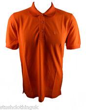 Hugo Boss Negro Hombre Polo naranja (hbbps001a)