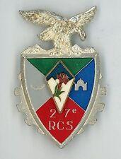 TRAIN  27° RCS  Régiment de Commandement et de Soutien Translucide