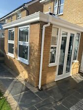 More details for conservatory/orangery lantern roof, doors, windows in white. perfect condition