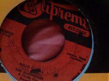 Supreme Records Hello Carol/infiel Bebé Lord creador