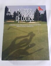 BePuzzled Murder of Course A Mystery Jigsaw Thriller 1000 Piece Jigsaw Puzzle