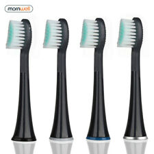 For Mornwell D01/D02,Pack of 4 Standard Replacement Toothbrush Heads with Caps
