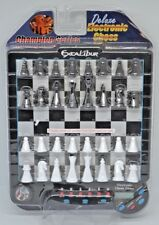 Excalibur Champ. Series Deluxe Electric Chess 901E-4-CS NIB W/ Training Function