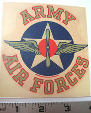 US Army Air Forces water slide decal set