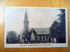 OLD PPC: DEN HAAG~THE HAGUE~BEZUIDENHOUT~ca. 1934~ENGELSCHE KERK~ENGLISH CHURCH
