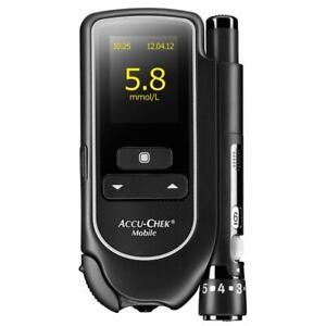 Roche Accu-Chek Mobile Blood Glucose Monitor System Mmol/L Diabetes Brand New