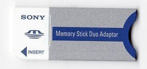 #2 Sony Genuine MSAC-M2 Camera Memory Stick Duo Adapter