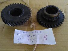 Ingranaggio 3 marcia 32 denti Fiat 600 D