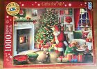 Schmid Father Christmas Delivering Gifts For All 1000 Piece Jigsaw SEALED NEW