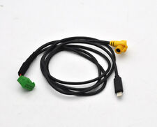 MMI 3G AMI Audio AUX in cable charge iPhone 7 8 plus X For Audi A6 A4 Q7 A5 S5