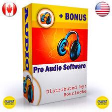 SOUND MUSIC EDITING SOFTWARE FOR AUDIO RECORDING STUDIO ★ MP3 CONVERSION - #B1