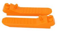 LEGO -  2 x Steinetrenner, Elementetrenner Achsentrenner orange / 96874 NEUWARE
