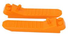 LEGO - 2 x Pietre separatori, elementi separatori separatori assi Arancione/96874 Merce Nuova