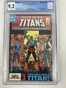 Tales of the Teen Titans #44 🔥 CGC 9.2 DC Comics 1984 1st appearance NIGHTWING!