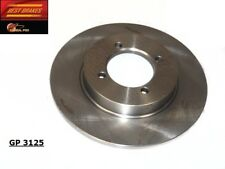 Disc Brake Rotor-Standard Brake Rotor Front Best Brake GP3125