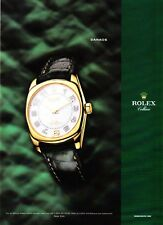 2005 Rolex Cellini Danaos Geneve Watch photo promo print ad