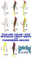 Strike King Speckled Trout Magic Saltwater Spinnerbait STM 1/8 1/4oz Any Color