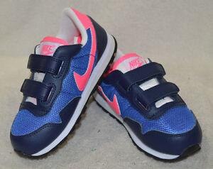 Nike Toddler Girl's Metro Plus CL (TDV) Blue/Pink/Navy Sneakers-Size 5/6/10C NWB