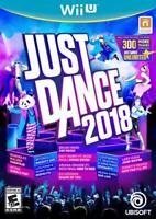 Just Dance 2018 - Nintendo WiiU - Must have a WiiU - Does not work on Wii