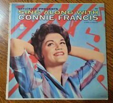 Brylcreem Presents Sing Along with Connie Francis LP Mati-More 8002 1961