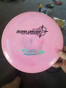 Innova PFN Star Aviar Driver 170g Putt Approach Golf Disc OOP pink swirly *BB