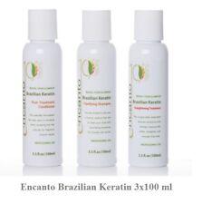 ENCANTO DO BRASIL Original Brazilian Keratin Behandlung Haarglättung Set 3x100