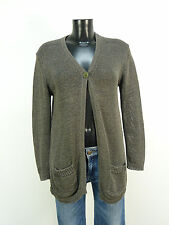 NICE CONNECTION STRICKJACKE GR 42 / DUNKELGRAU & NEUWERTIG   ( M 2538 )