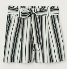 H&M Shorts with Tie Belt Size 6