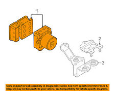 AUDI OEM 2009 Q7 ABS Anti-lock Brakes-Modulator Valve 4L0614517KBEF