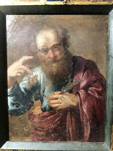 Very Old Dutch Painting Oil On Copper Early 17th Century Circle Of Rubens