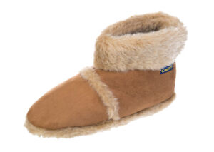 MENS COOLERS COMFORT FUR WARM SNUGG WINTER ANKLE SLIPPERS FREE POST  7 8 9 10 11