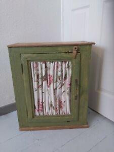 Green Crackle Glaze Hanging Cabinet 56 X 47 X 24