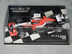 Minichamps F1 1:43 C Albers Midland MF1 M16 2006