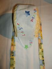 """""""BABY/TODDLER DOORAGS"""" Keep their Heads Protected:""""STAR BRIGHT, YELLOW,WHITE"""""""