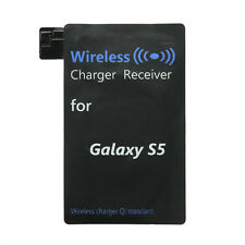 Qi Wireless Charging Receiver Charger Adapter Receptor For Samsung Galaxy S5