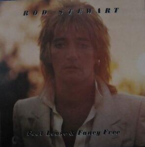 ROD STEWART  LP  FOOT LOOSE & FANCY FREE