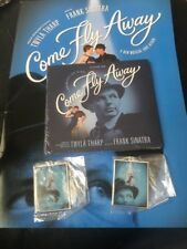 COME FLY AWAY 2010 PROGRAM Frank Sinatra with CD+ 2 Keychains BROADWAY