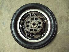 1982 82 HONDA CB750 FLD119 750 MOTORCYCLE REAR TIRE WHEEL RIM SPOKES 2.50-16