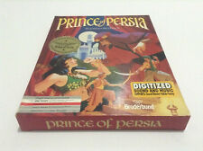 Prince of Persia *Broderbund-Jordan Mechner* IBM PC 3.5 Big Box action adventure